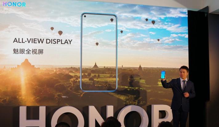 Honor تكشف عن أول هاتف بكاميرة مدمجة في الشاشة View 20