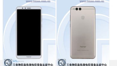 Huawei Honor V10 front and back