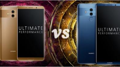 Huawei Mate 10 vs. Mate 10 Pro