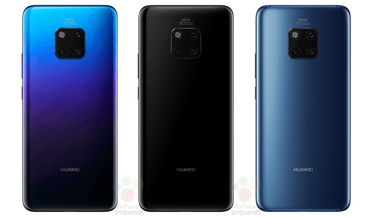 Huawei Mate 20 Pro-color- leak