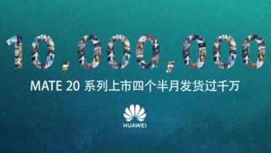 Huawei Mate 20 phones reach 10 million sales (1)