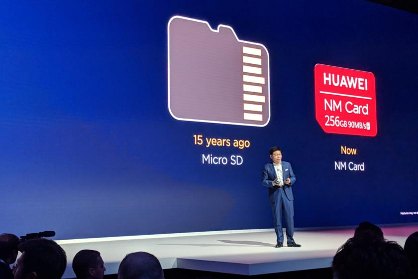 هواوي تستغني عن بطاقة microSD لصالح ذاكرة نانو مع Mate 20