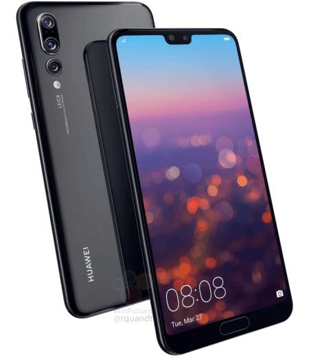 تسريبات: هاتف هواوي P20 برو سيأتي بالعديد من المزايا الرائدة