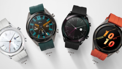 Huawei Watch GT Active and Elegant Editions official