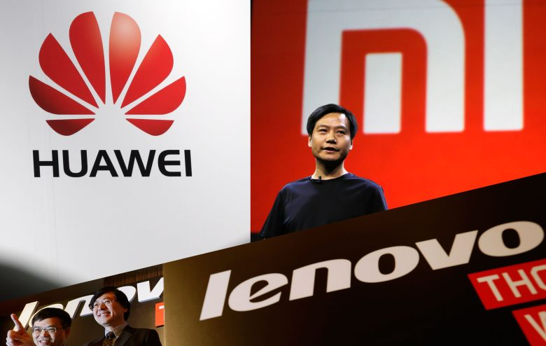 Huawei-Xiaomi-Lenovo-smartphone-sales