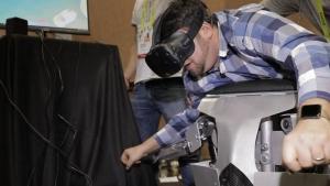 Hypersuit VR-similitude exoskeleton