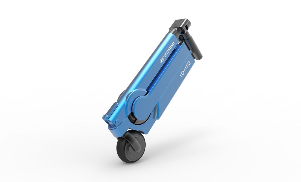 Hyundai IONIQ Scooter folding