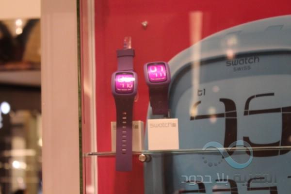 6852ce34216c9 نظره على الساعه Swatch Touch - التقنية بلا حدود
