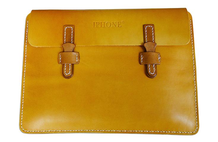 IPHONE leather handbag