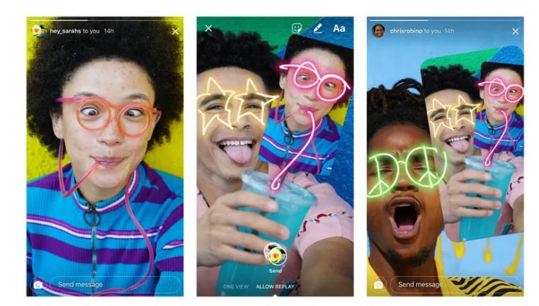 Instagram now lets you vandalize your friends' photos