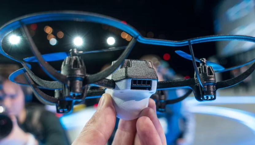 Intel's new Shooting Star Mini drones