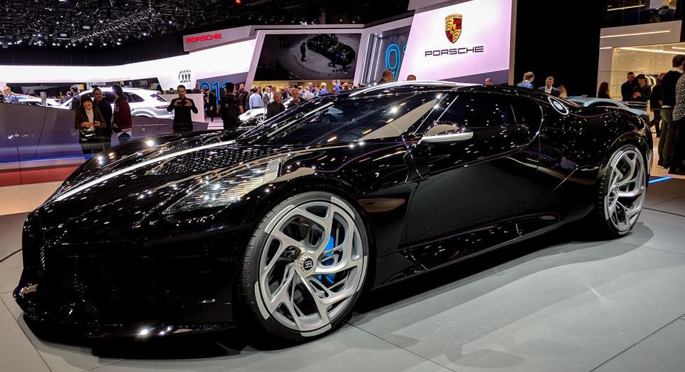 LA VOITURE NOIRE سيارة فاخرة بسعر 19 مليون دولار من BUGATTI