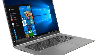 LG's 17-inch Gram laptop