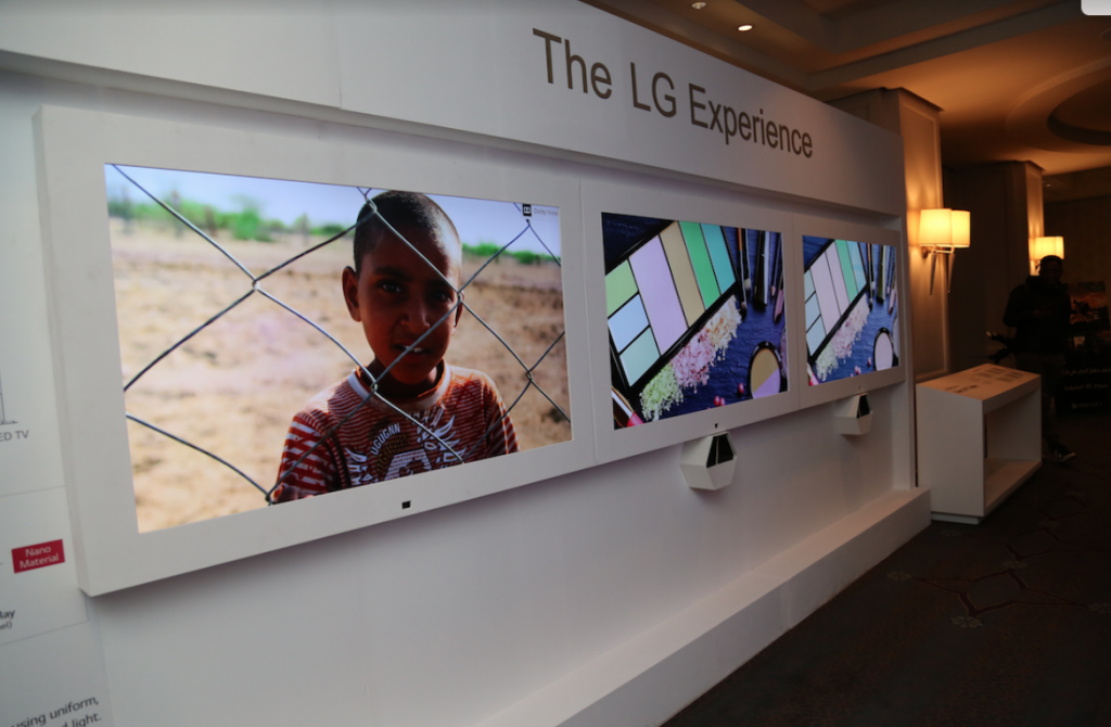 LG تُطلق أحدث تشكيلة من تلفزيونات Nano Cell وOLED وLG SIGNATURE OLED