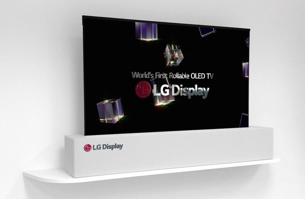 LG 65-inch Rollable OLED TV