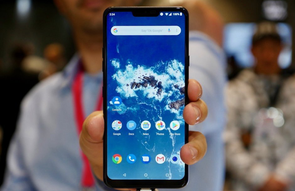بدء دفع تحديث Android 9 Pie لمستخدمي هاتف LG G7 One