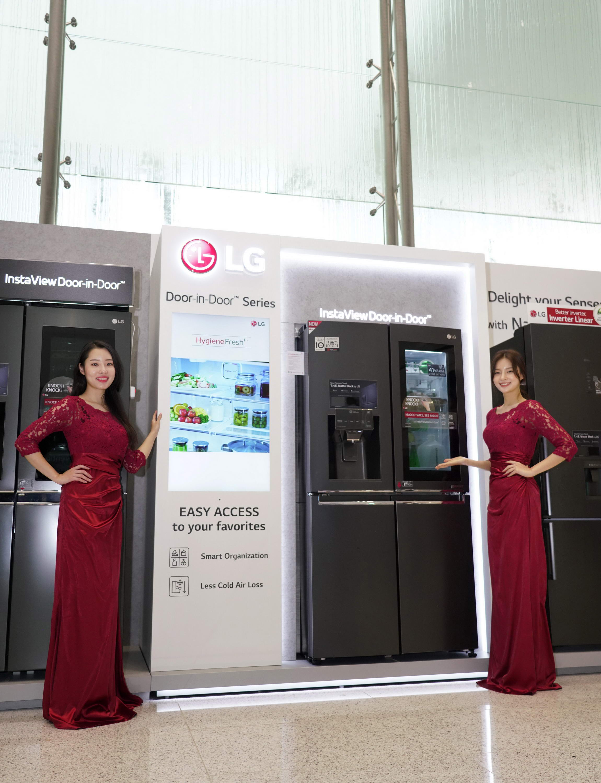 الحلول المنزلية الفاخرة تتألق معرض LG-InnoFest-2019-MEA
