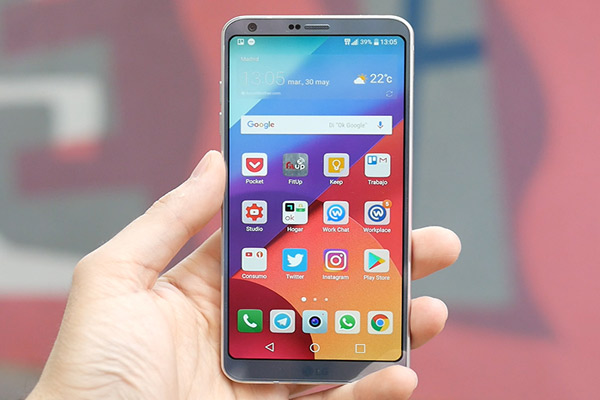 LG Q6 plus UI