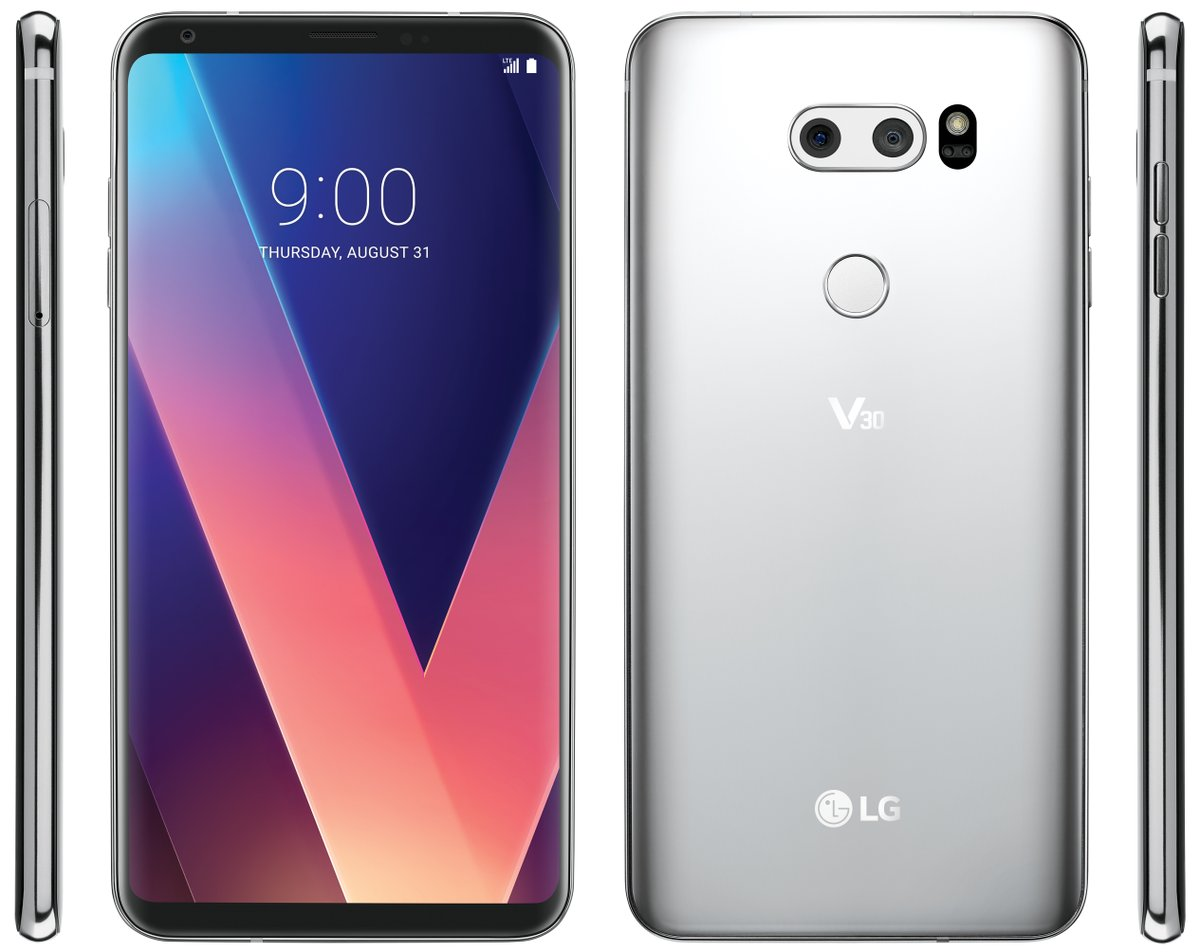 LG V30 Leaked Press Render