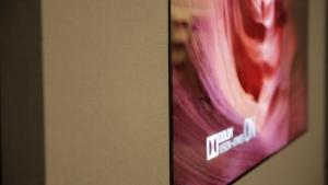 LG W7 featherweight wall-mount TVs