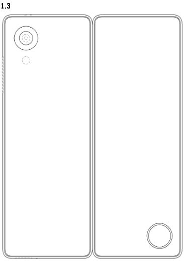 LG folding phone