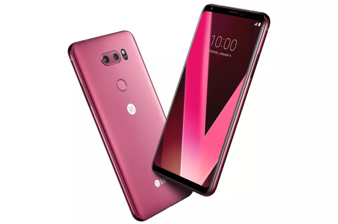LG pink V30