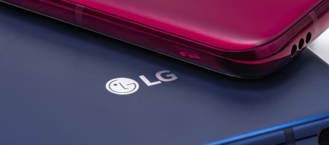 LG-smartphone design with under-display front camera
