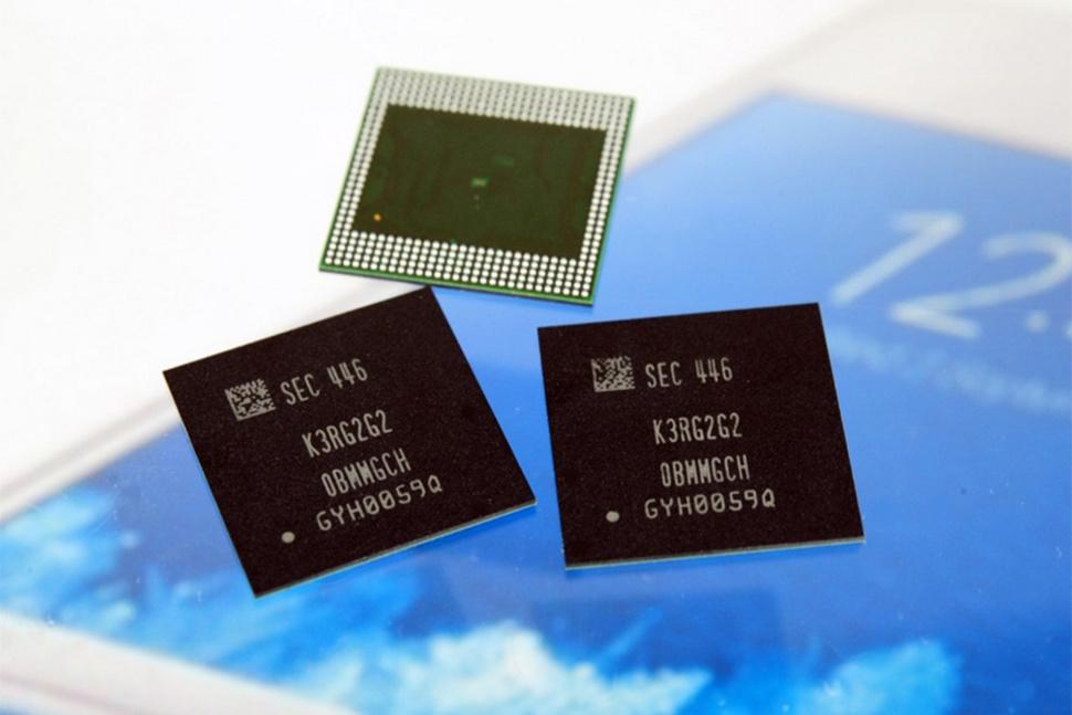 LPDDR4 6GB -DRAM chip