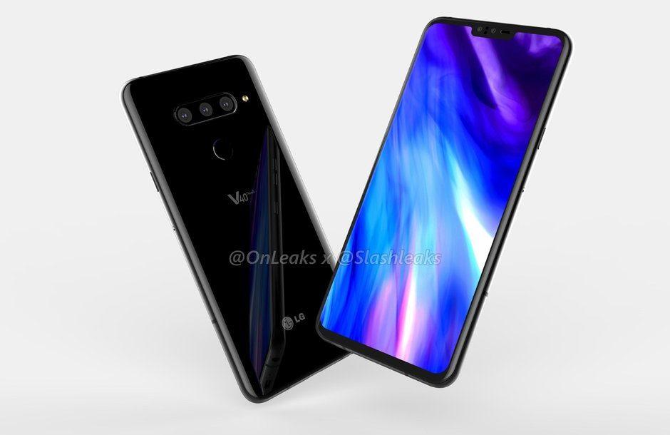 الكشف عن نسخة بسعة 8 جيجابايت من هاتف LG V40 ThinQ