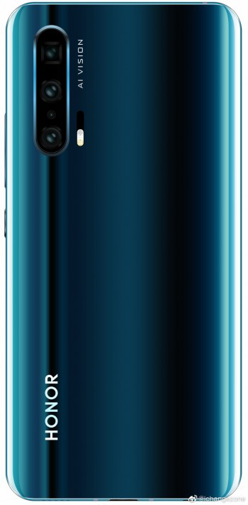 Leaked Honor 20 Pro