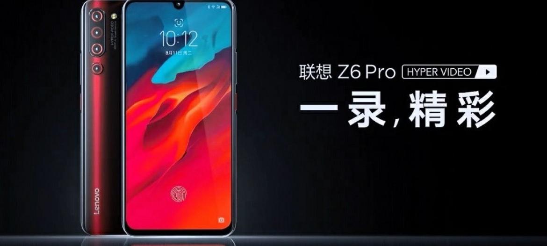 فيديو ترويجي يؤكد على تصميم بنتوء في الشاشة لهاتف Z6 Pro من لينوفو