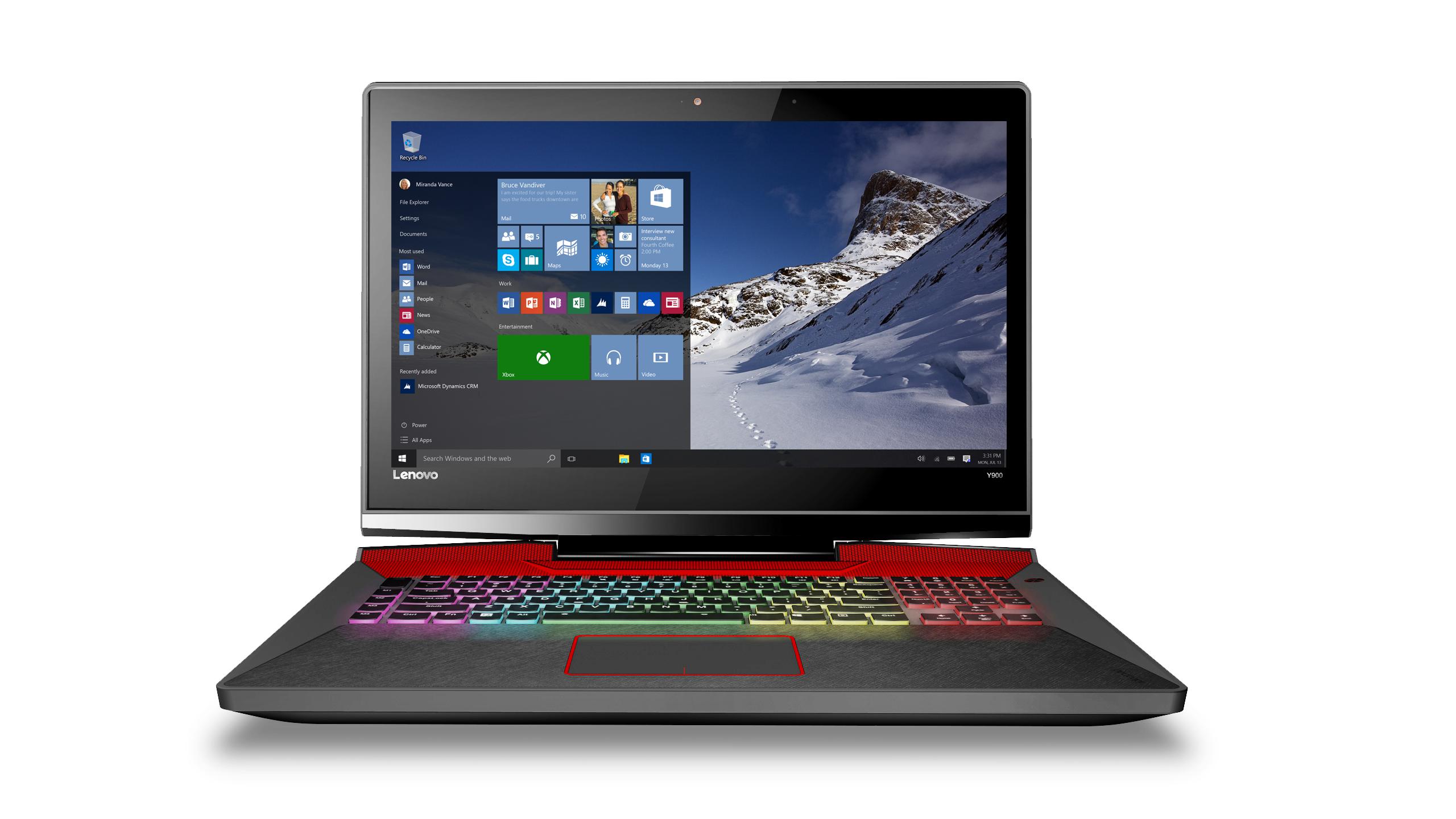 Lenovo-gaming laptop- Y900