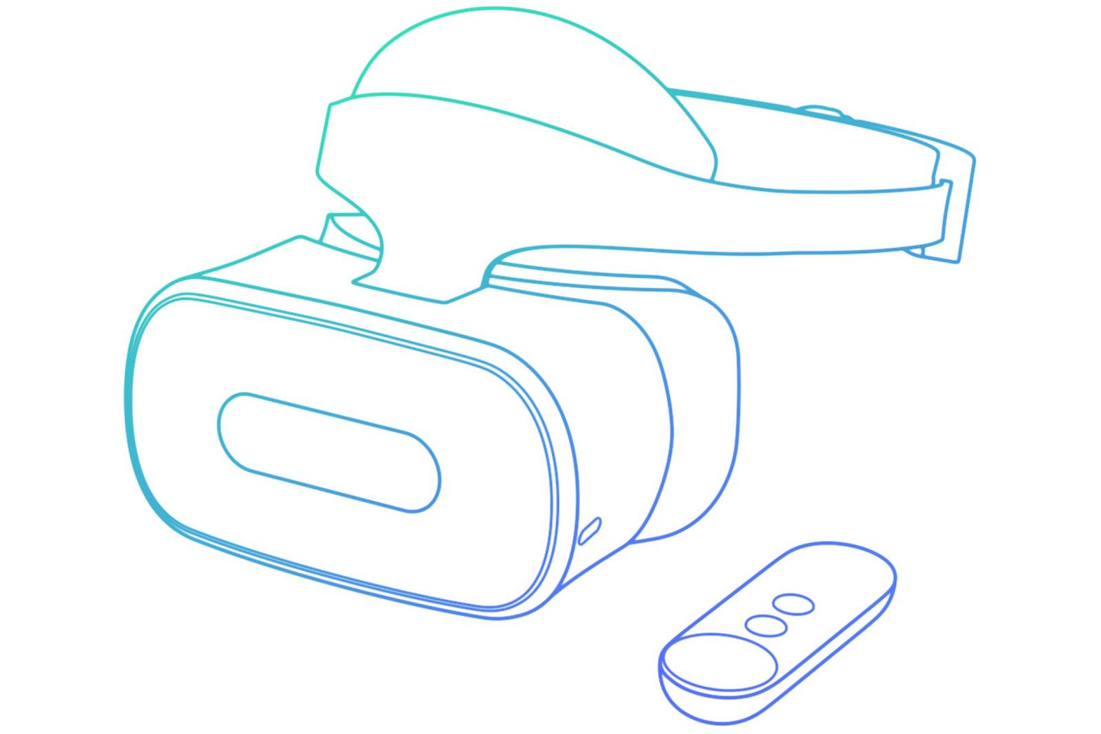 Lenovo's standalone Daydream VR headset