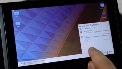 Linux tablet