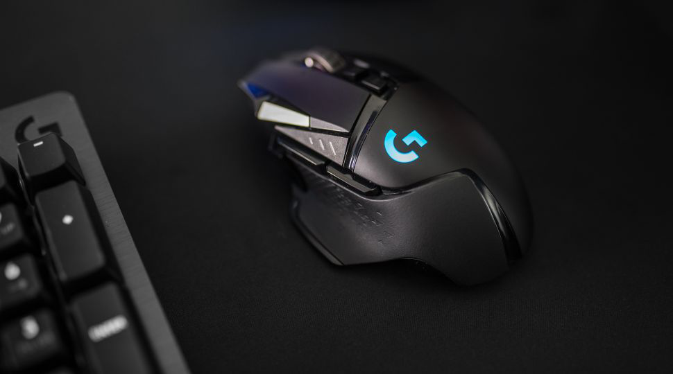 Logitech G502 wireless Lightspeed gaming mouse