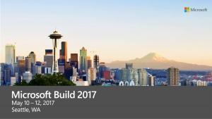 MSbuild2017