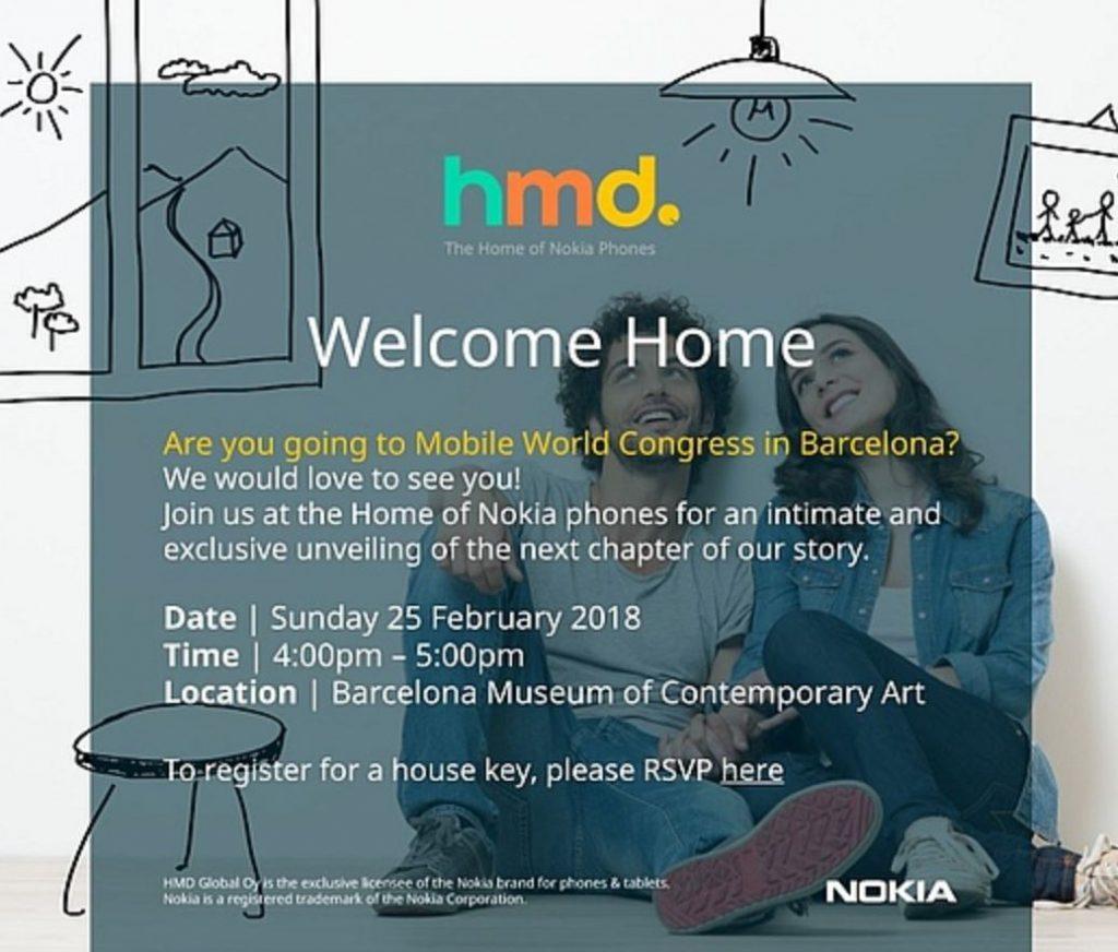 HMD تكشف عن موعد حدث نوكيا الخاص في مؤتمر MWC 2018