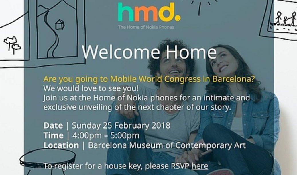 MWC 2018 Nokia Event