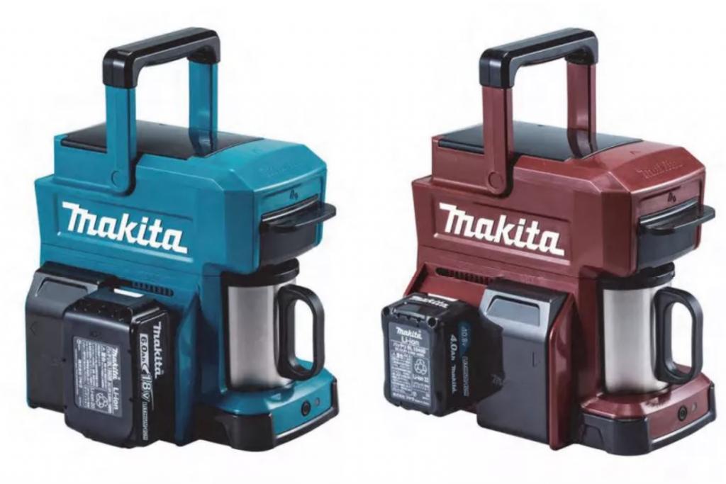 شركة Makita تقدم ماكينة تحضير قهوة تعمل بالبطارية