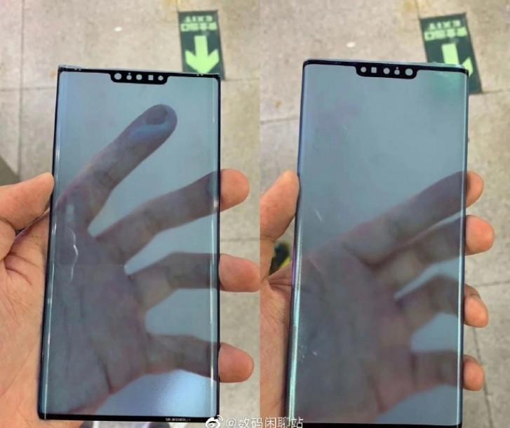 تسريبات مصورة لشاشة الحماية في هاتف Mate 30 Pro تؤكد تصميم مميز بنتوء كبير الحجم