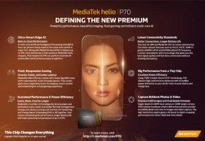MediaTek unveils Helio P70