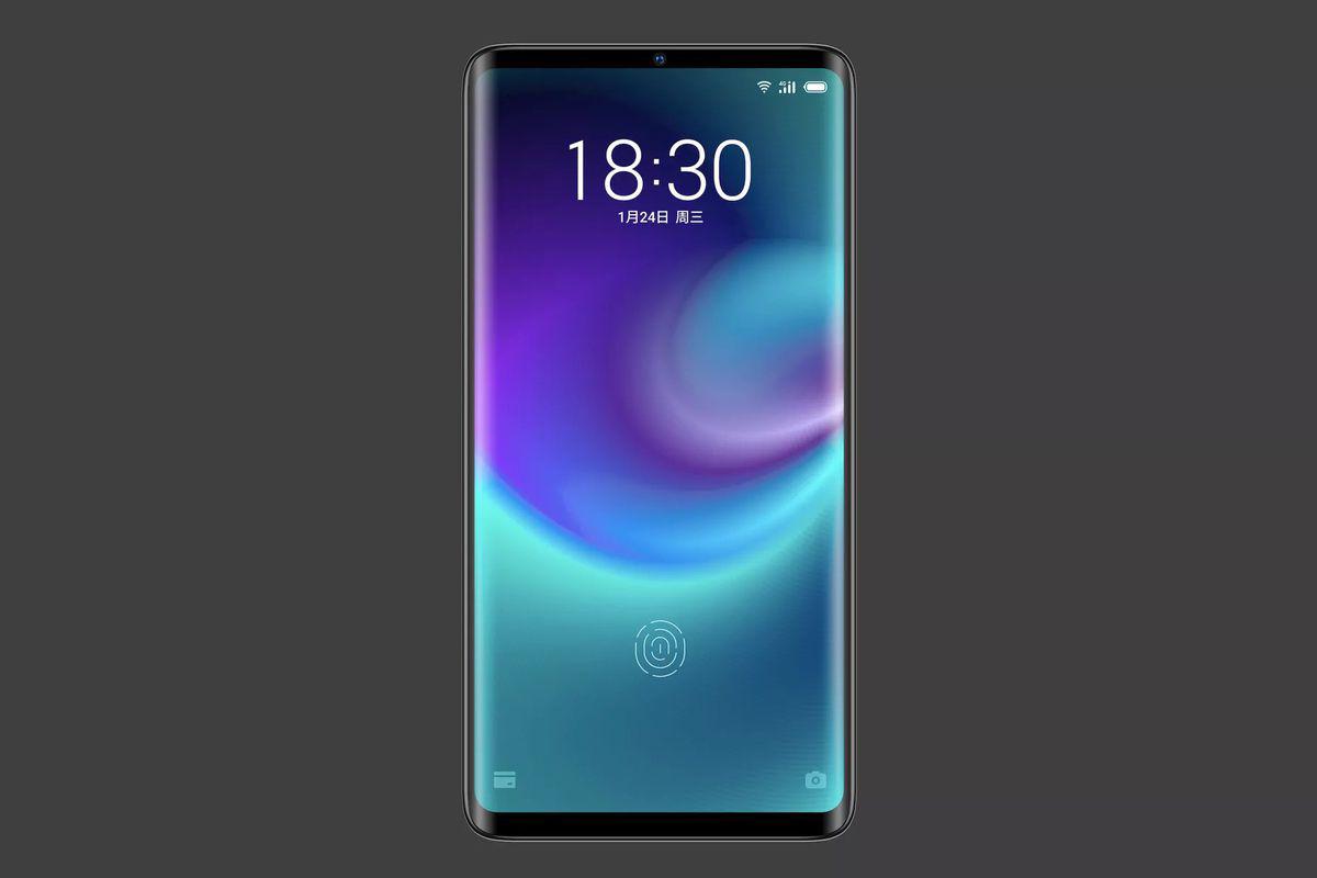 Meizu port-less phone