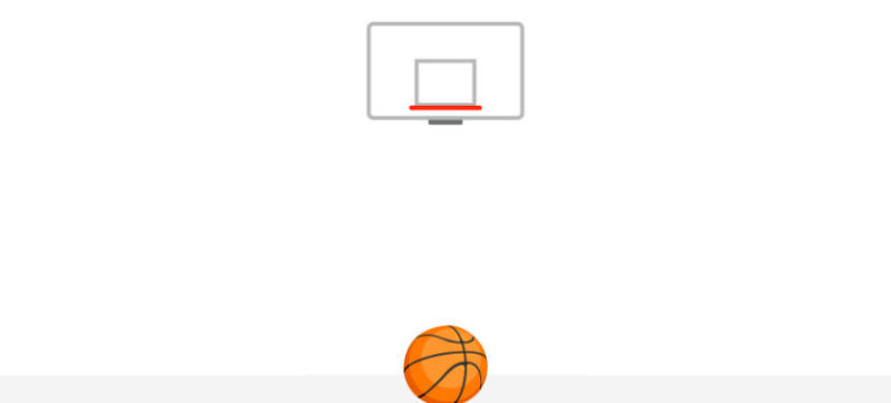 Messenger-hidden basketball game