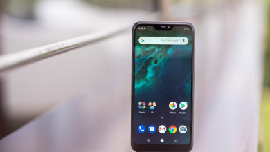 Mi A2 Lite-display