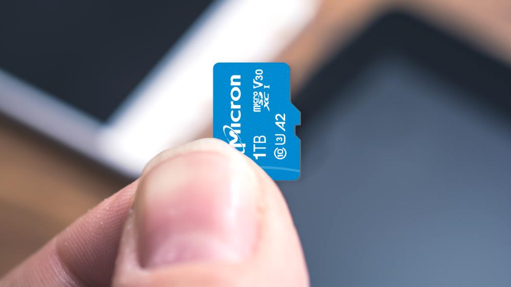 Micron and Western Digital - 1TB microSD Cards