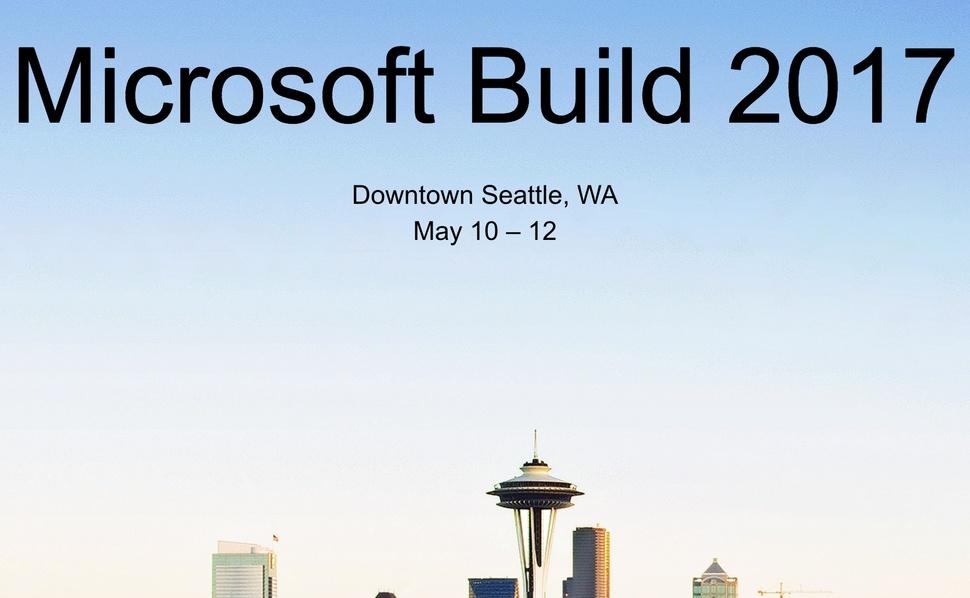 Microsoft Build ticket