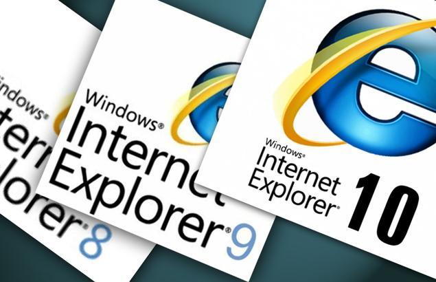Microsoft-Internet Explorer 8-9 -10