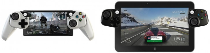 Microsoft experiments -modular controllers-mobile devices