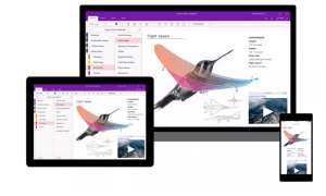 Microsoft redesigned OneNote's interface