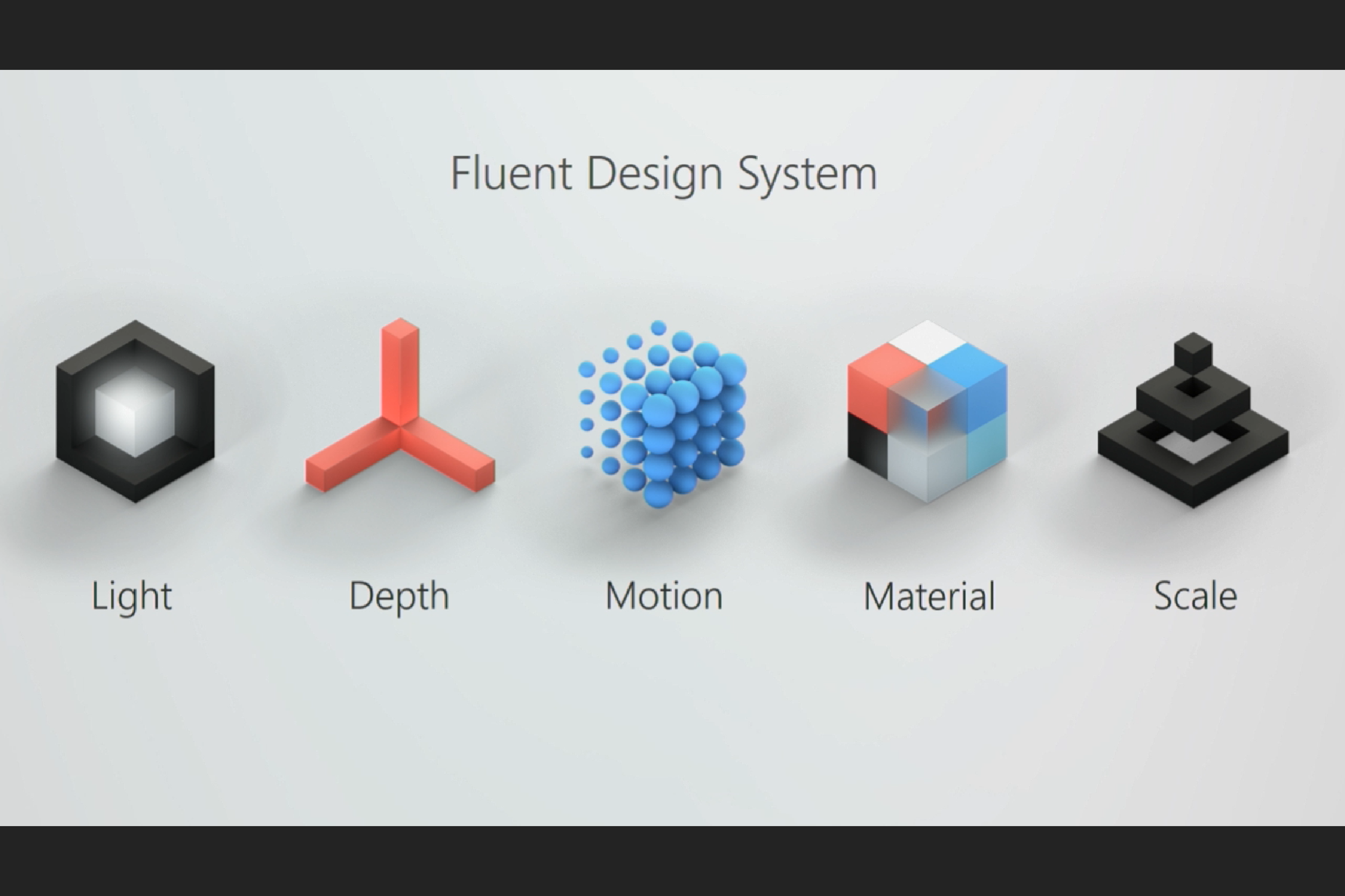 Microsoft shows off its Fluent Design changes to Windows 10